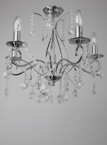 BHS Connie Chandelier for the master bedroom.
