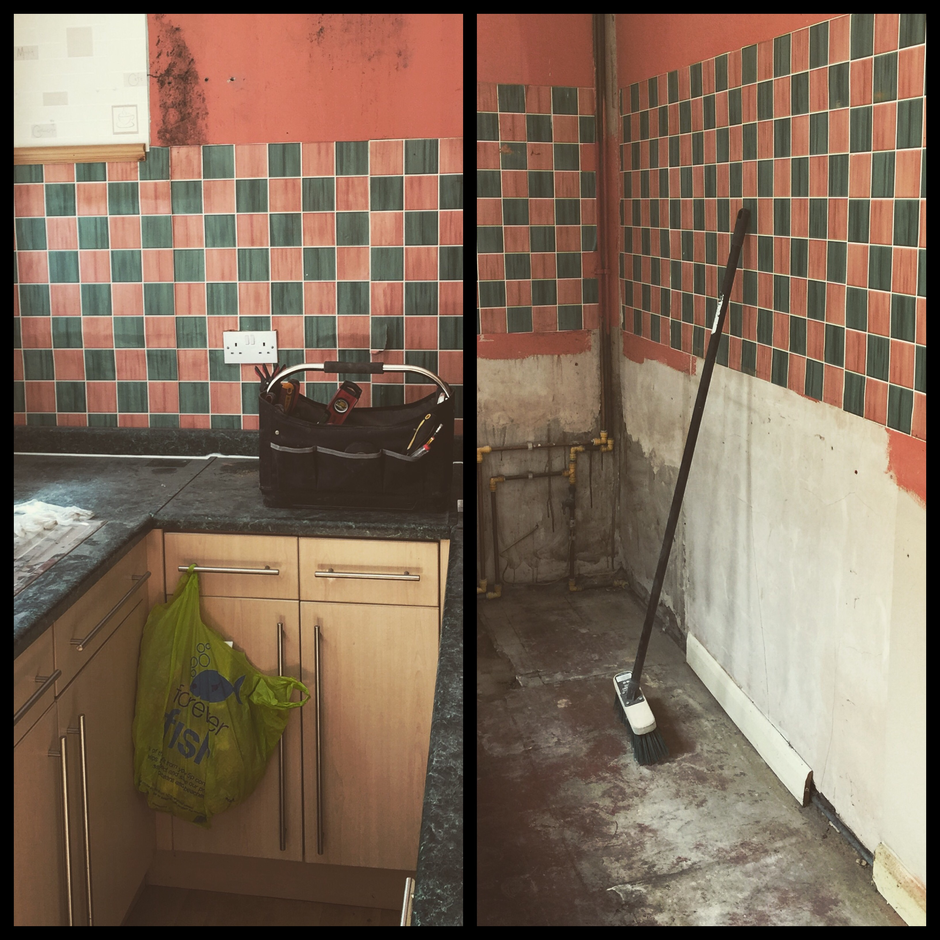 Goodbye stinky kitchen…