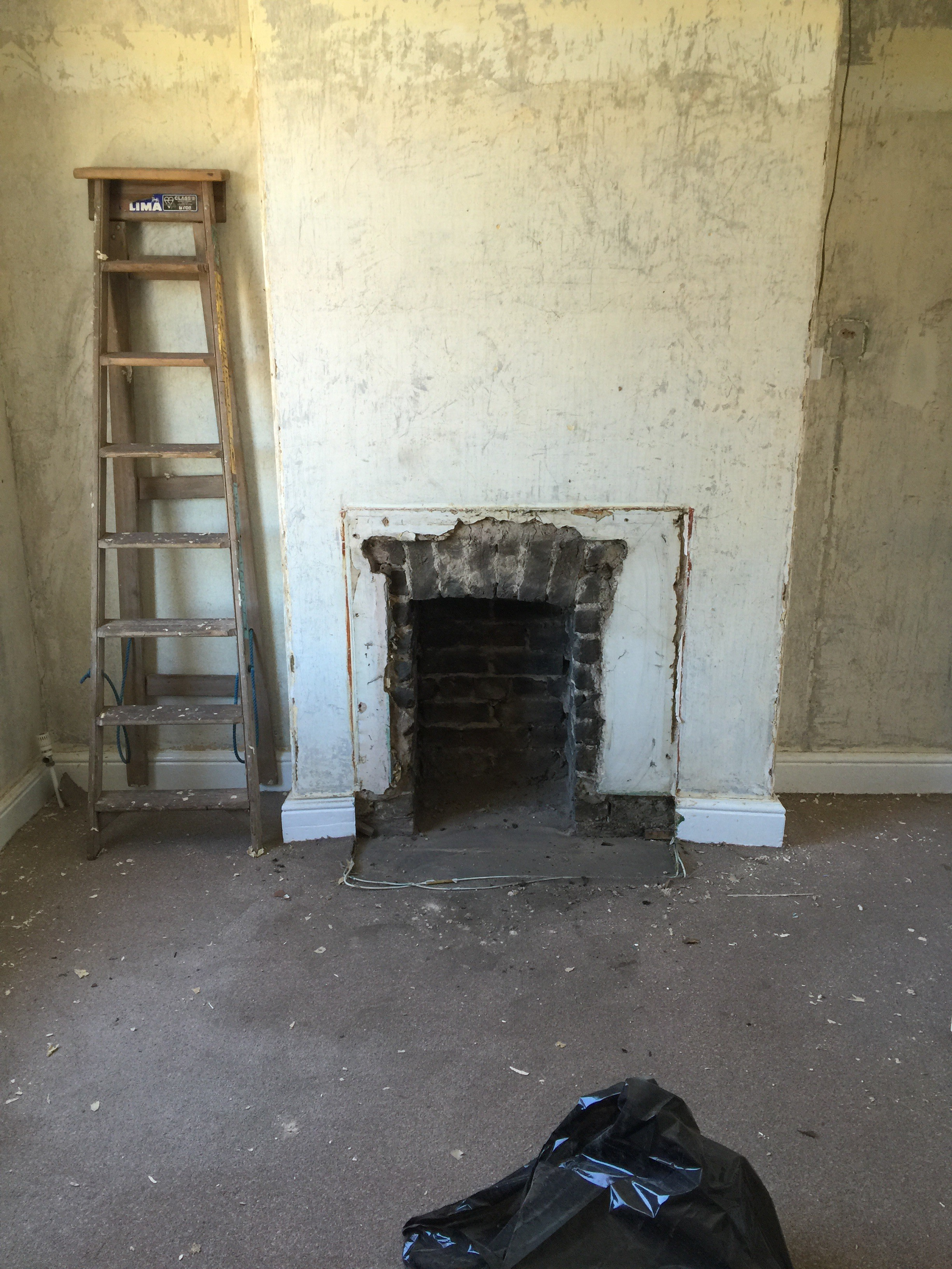Weekend Number 1- Steaming, Stripping, Woodchip, Surprises & One Catastrophe